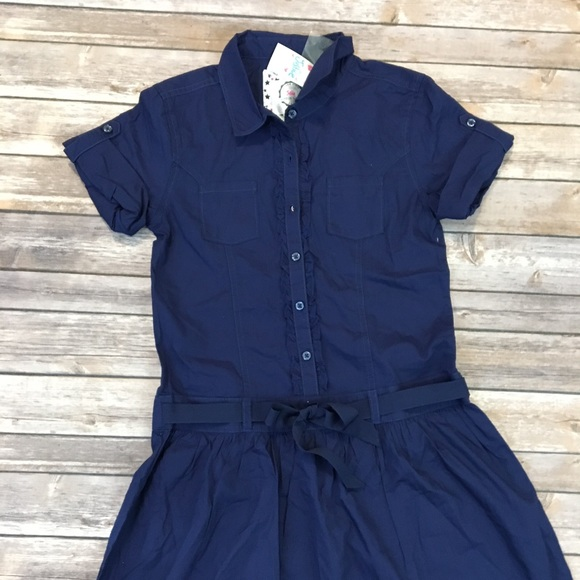 Justice Other - Justice Navy Dress.